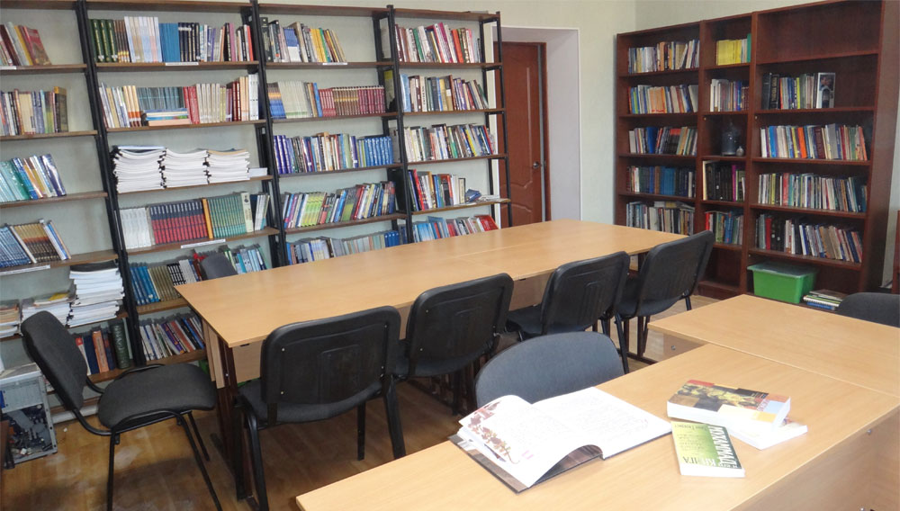 Central Asian Mission College Library