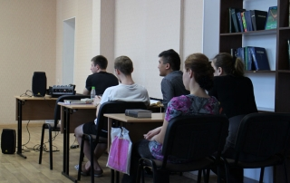 Central Asia Mission College Students