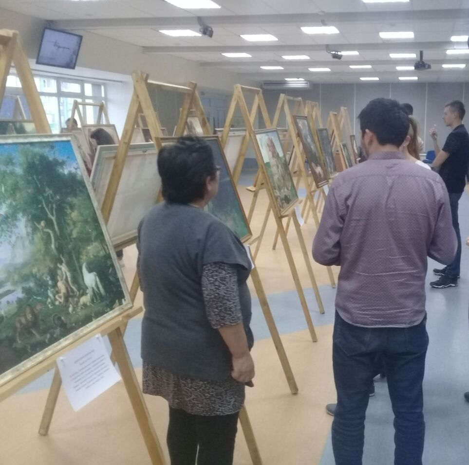 sharing the Gospel through art in tatarstan