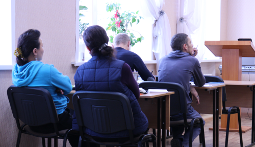 Central Asian students studying at Kazan mission college