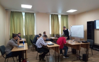 new 2020-21 students studying at Eurasian Mission Bible College